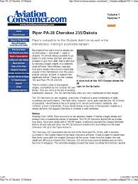 piper 235 vehicle parts aeronautics