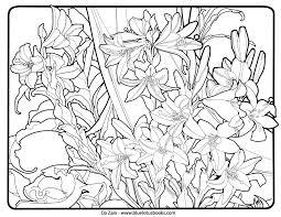 alfons mucha art nouveau free coloring pages u2013
