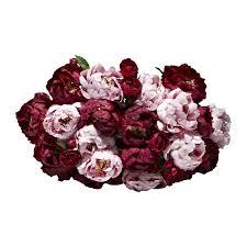 Faux Flower Arrangements Pink U0026 Burgundy Peony Faux Flower Bouquet Shop Lifelike Flowers