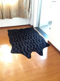 Solid Black Area Rugs Fabric Flax Picture More Detailed Picture About Wholesale