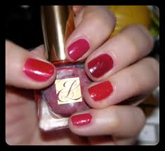 red haute nails from estee lauder u2013 5pm spa u0026 beauty