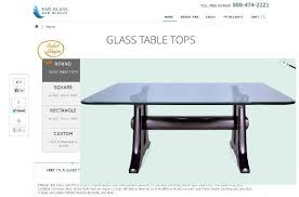 36 inch round tempered glass table top fab glass and mirror square glass table tops