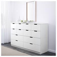 White Bedroom Chest - nordli chest ikea