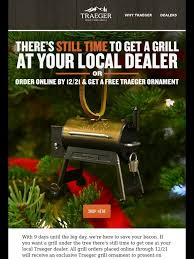 traeger grills traeger your tree for milled