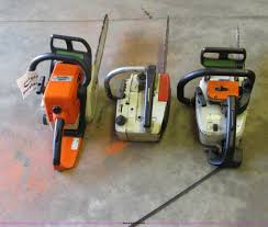 3 stihl chainsaws item i3864 sold august 28 construct