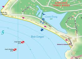 map of st martin martin sint maarten road map caribmart