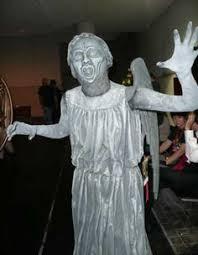 Weeping Angels Halloween Costume Bb Readers U0027 Diy Costumes Weeping Angel Tiny Dalek Holy