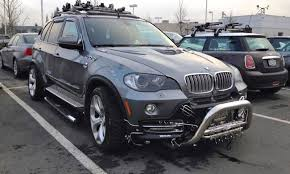 2002 bmw x5 accessories can anyone top this x5 with tattoos and piercings