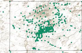 Northern Arizona Map by Flagstaff Climate Data Methodology Garden In Flagstaff