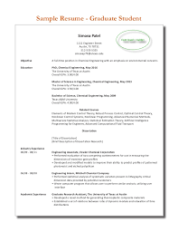 Sample Resume For Newly Graduated Student by Sample Resume Of Graduate Templates
