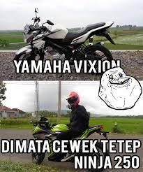 Meme Ninja - meme otomotif motor vixion dan kawasaki ninja gondes motovlog