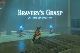 zelda breath of the wild guide ishto soh shrine walkthrough and