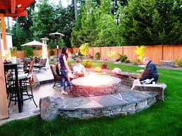 Floating Fire Pit by Home Design Patio Ideas With Gas Fire Pit Tropical Expansive