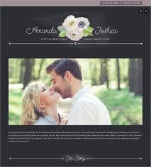 free wedding website 39 wedding website themes templates free premium templates