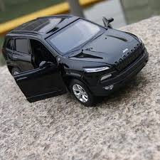 jeep cherokee toy 1 32 jeep cherokee diecast model metal alloy pull back suv car kid