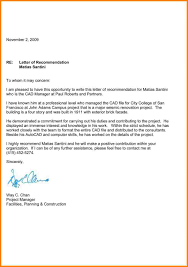 6 recommendation letter sample of invoice