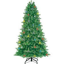 twinkle light christmas tree walmart ge itwinkle 7 5ft easy shape x mas tree walmart com