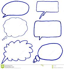 speech bubble hand drawn drawn bubble pencil and in color drawn bubble