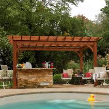 10 X 10 Pergola by Bayhorse Gazebos U0026 Barns Traditional Wood Pergola 10 U0027 X 16