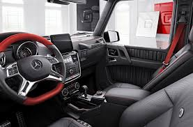 mercedes g class interior interior view of the updated 2007 mercedes g class