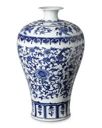 blue u0026 white ginger jar imperial vase williams sonoma