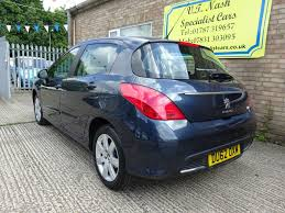 blue peugeot used blue peugeot 308 for sale suffolk