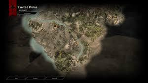 Dragon Age World Map by Image Map Of Halin Sulahn Walkthrough Png Dragon Age Wiki