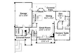 Prairie Style House Plans Northshire 30 808 Associated Designs