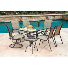 Turquoise Patio Chairs 8 Piece Castlecreek Shale Island Patio Dining Set 624351 Patio