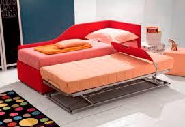 letto estraibile letto con letto estraibile singolo moderno in tessuto