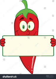 smiling red chili pepper cartoon mascot stock vector 157565792