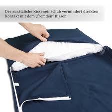 K He Komplett Kaufen Hüttenschlafsack Aus Baumwolle Durchgehender Reißverschluss