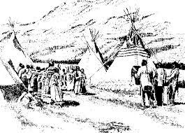 indianer spr che die indianer und das tipi