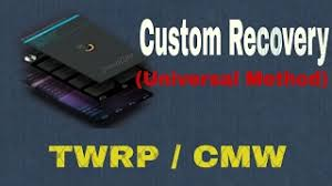 custom recovery android how to install custom recovery twrp cwm in android