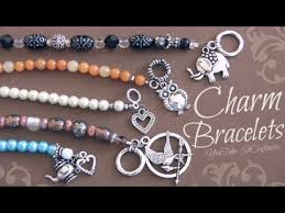 charms bead bracelet images Diy denim and beads bracelet how to make beaded bracelets deaft jpg