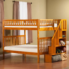Staircase Bunk Beds Twin Over Full by Best 25 Staircase Bunk Bed Ideas On Pinterest Girls Bedroom