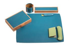 accessoire bureau luxe alisier lagon collection d accessoires de bureau maroquinerie de luxe