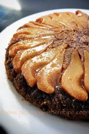 pear and ginger upside down cake please pass the recipe