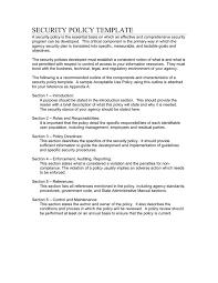 doc 638826 security policy sample u2013 sample cloud application