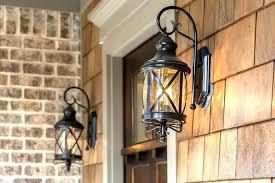 hanging front porch light front door lighting fixtures refresher