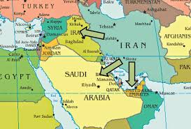 Biblical Map Of The Middle East by Blessed Economist Isis Iraq