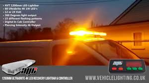 Led Light Bar 12v by Avt 1200mm 48
