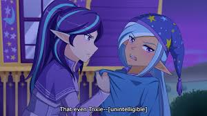 anime subtitles 1266816 anime artist jonfawkes clothes dialogue duo elf