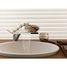 Bathroom Waterfall Faucet by Hansgrohe Axor Massaud Single Hole 1 Handle Bathroom Faucet In