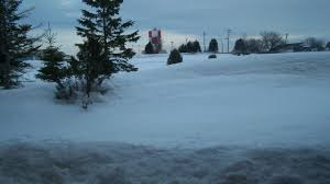 Snow Depth Map New England by Caribou Maine Had A Foot Or More Of Snow On The Ground For A