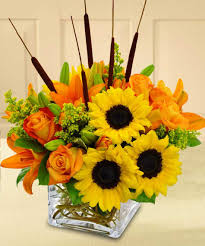 sunflower delivery splash of autumn marco island florist marco island fl 34145