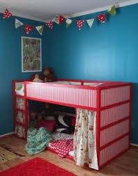 Well Thats A Neat Way To Keep The Kids From Falling Out Of The - Ikea bunk bed kids