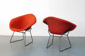 harry bertoia for knoll diamond chairs pair c 1950 harry