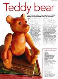 wooden faced teddy bears carving teddy wood carving patterns woodarchivist