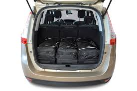 renault grand scenic 2010 car bags travel bag sets renault grand scénic iii 2009 2016 car